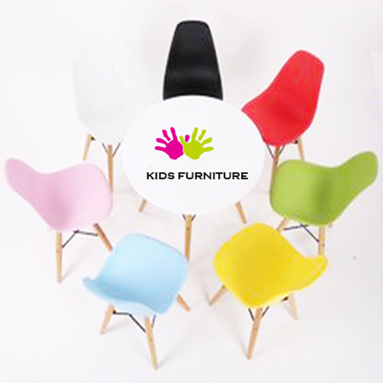 Child Kids Mmilo Eiffel Inspired Eames White Table Set