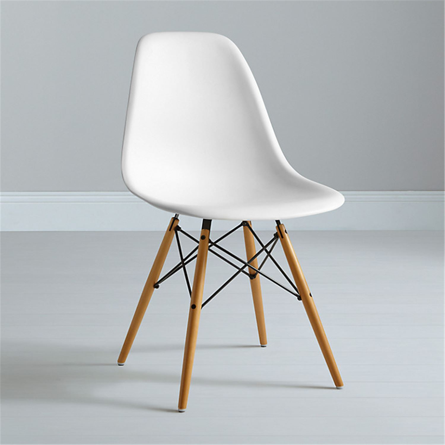 Charles ray eames eiffel inspired dsw side living dining room office chair - Eames dsw eiffel chair ...