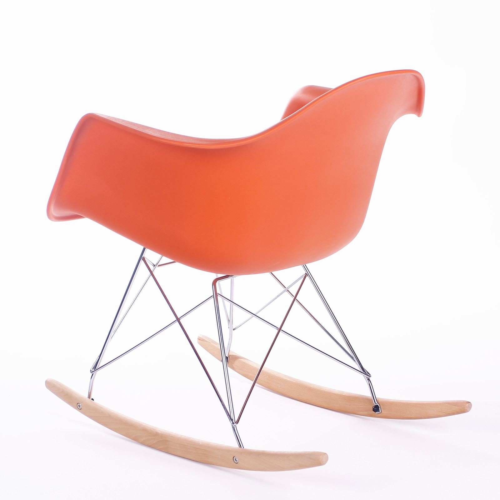 Red Rocking Chair Chords ~ Eames rocking chair ulubione krzes tab