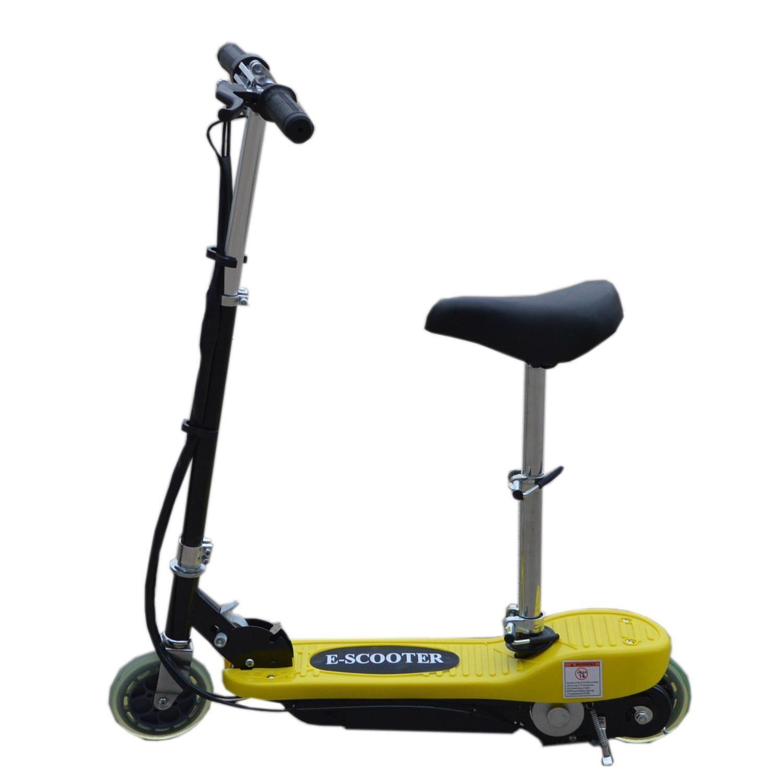 elektro e scooter mit abnehmbarem sitz batterie. Black Bedroom Furniture Sets. Home Design Ideas
