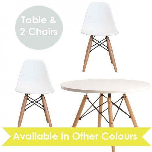 Toddler Desk And Chair Uk: Child Kids Mmilo Eiffel Inspired Contemporary Table & Set