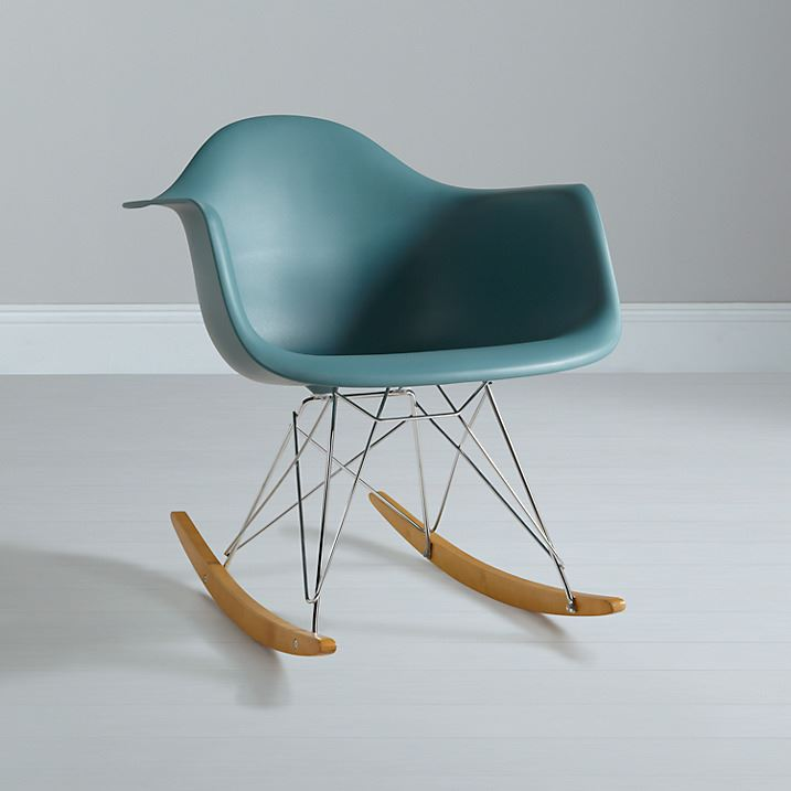 rocking chair rocker armchair retro lounge eames replica singapore charles dimensions original