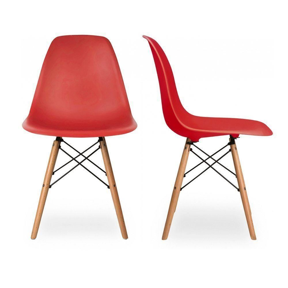 charles eames eiffel inspired dsw side dining chair retro classic returns ebay