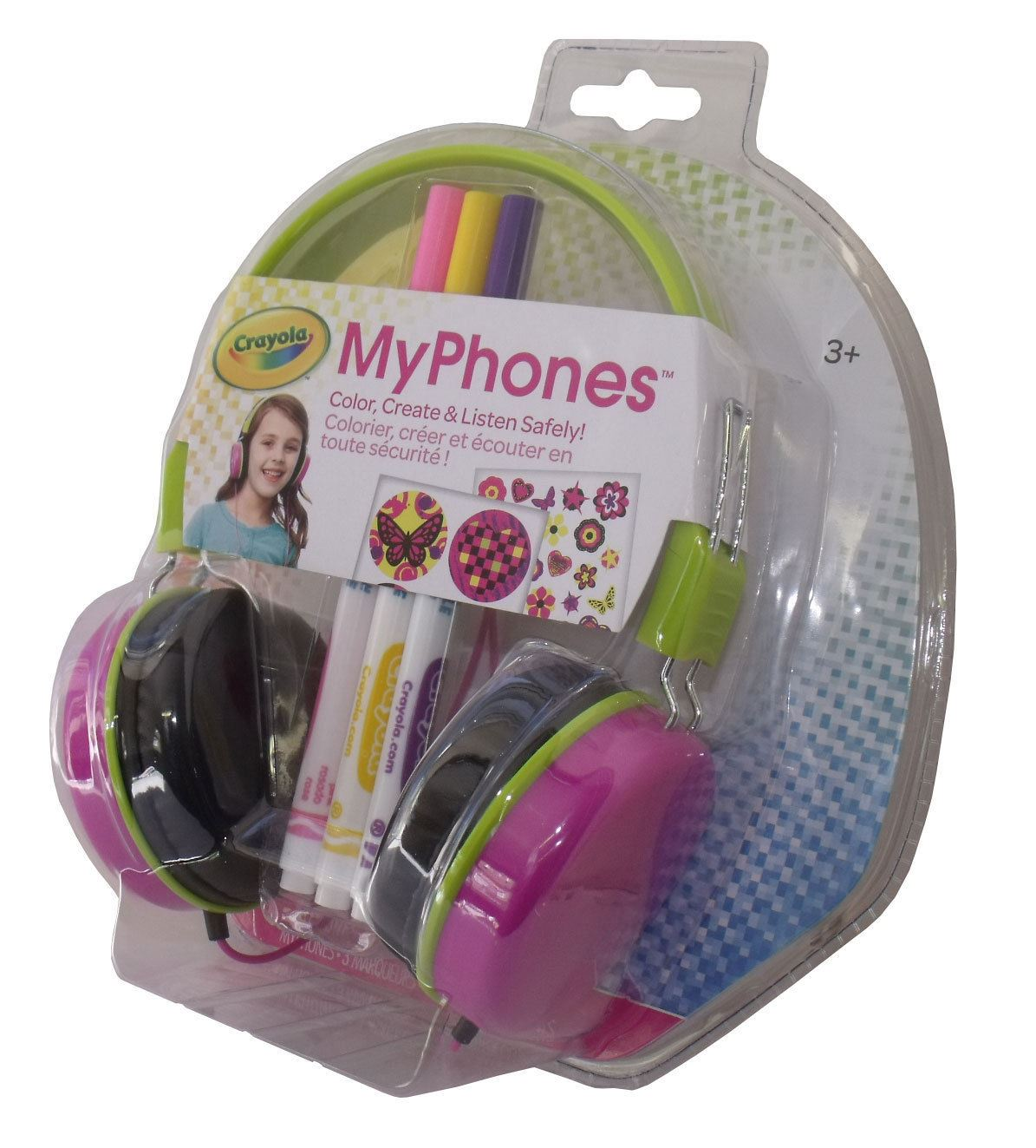 NEW GRIFFIN MYPHONES CHILDRENS KIDS CRAYOLA BOYS/ GIRLS ON ...