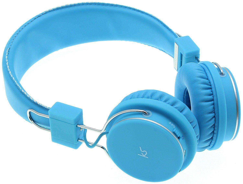 KITSOUND MANHATTAN BLUETOOTH HEADPHONES w/ BUILT-IN MIC