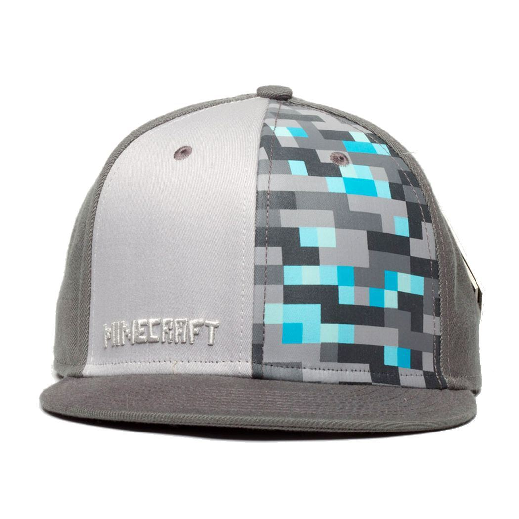 Official licensed minecraft caps mine craft baseball hat for Cap crafter