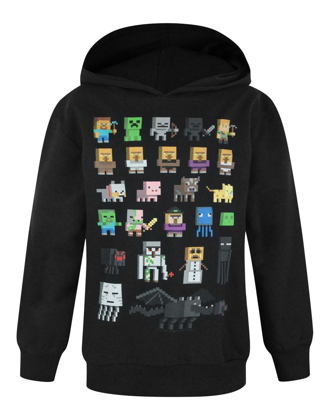 Minecraft boys hoodie