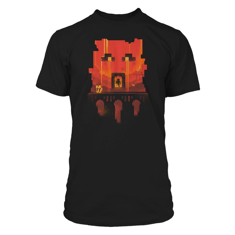 Official minecraft t shirt mine craft glimpse tshirt age 5 for Mine craft t shirt