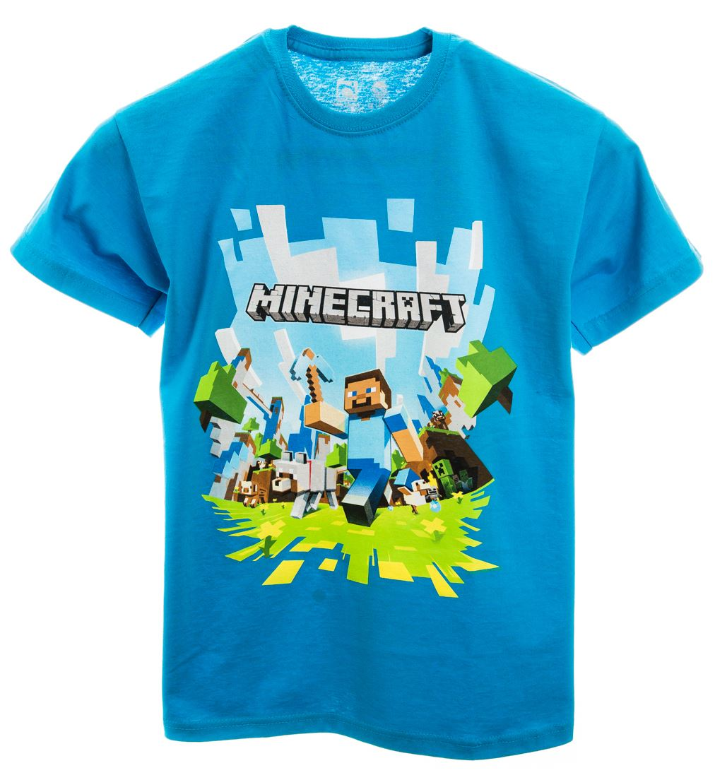 Minecraft Shirts. invalid category id. Minecraft Shirts. Showing 48 of results that match your query. Search Product Result. Product - Minecraft Like A Boss Long Sleeve Youth T Shirt. Product - Minecraft Mens T-Shirt - Steve Creates His Own Easter Island .