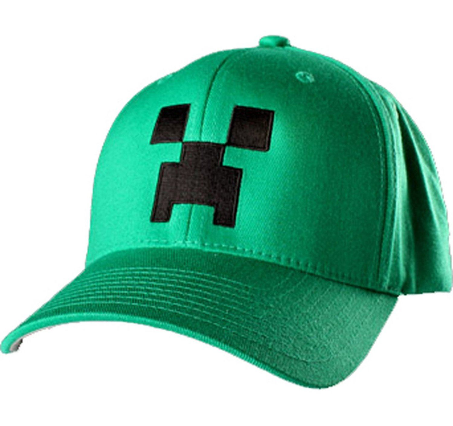 Official minecraft creeper baseball cap mine craft hat for Cap crafter
