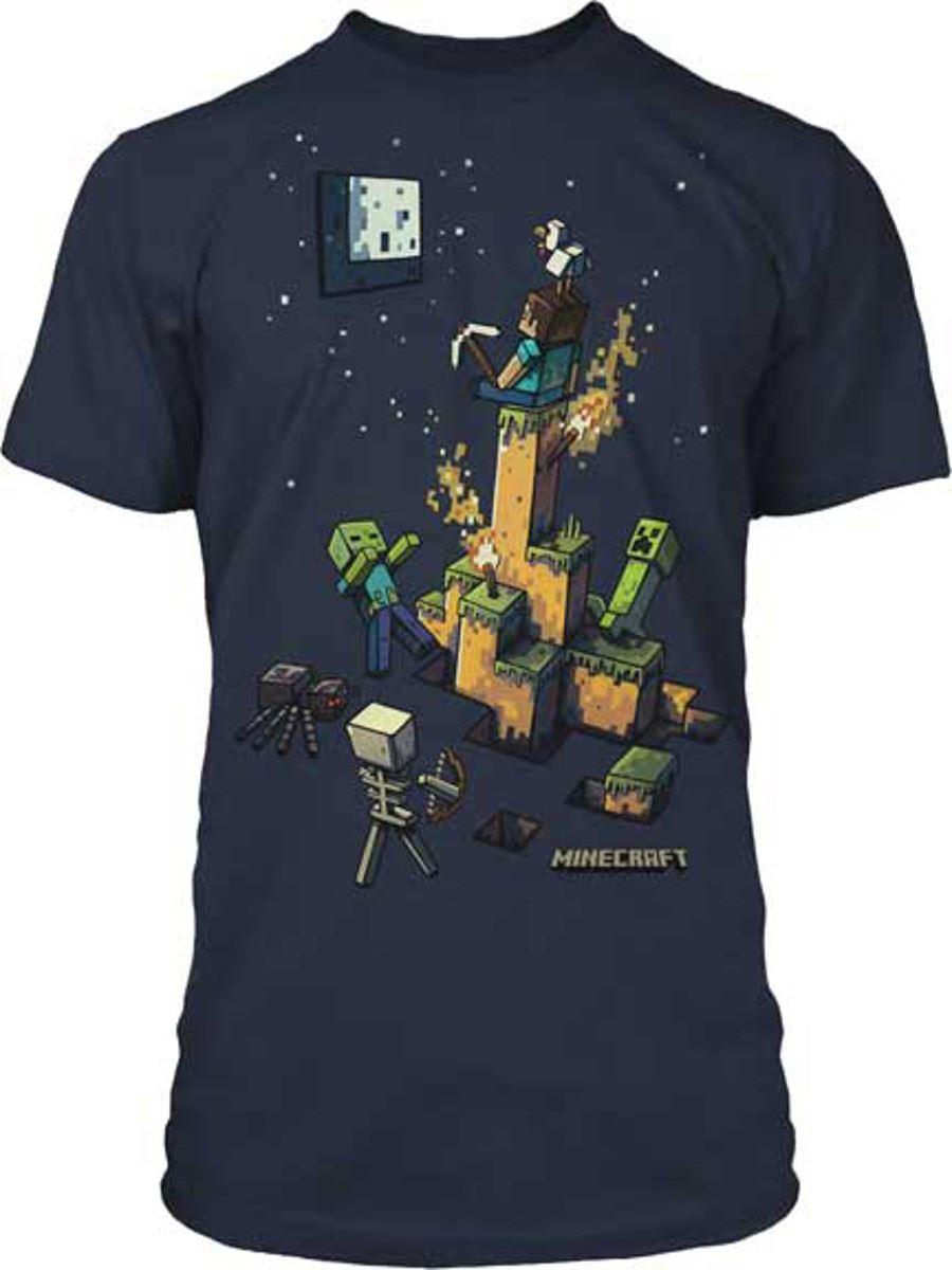Ragazzi minecraft t shirt mine craft t shirt ufficiale for Mine craft t shirt