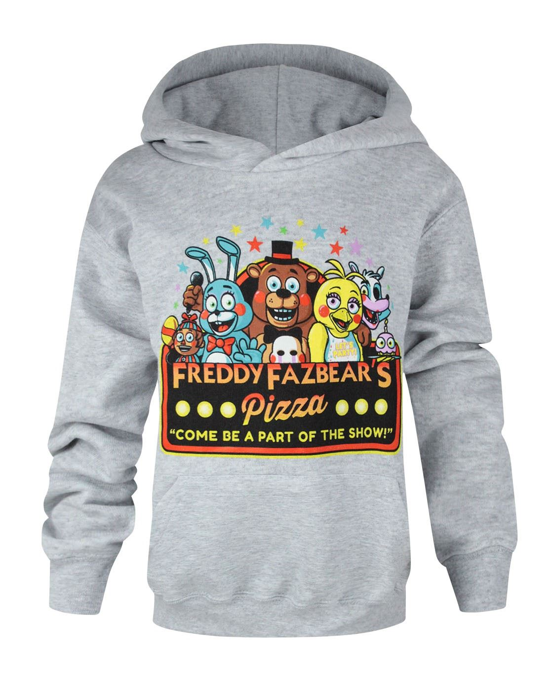 Five nights at freddys hoodie 5 night freddies hoody part of the show