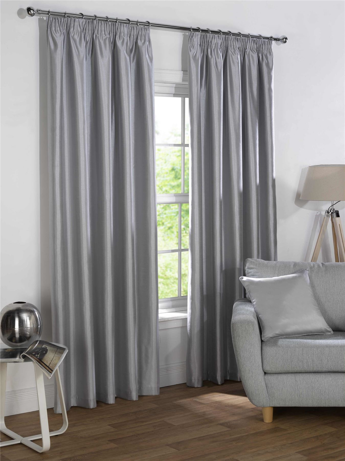 how to make lined pencil pleat curtains