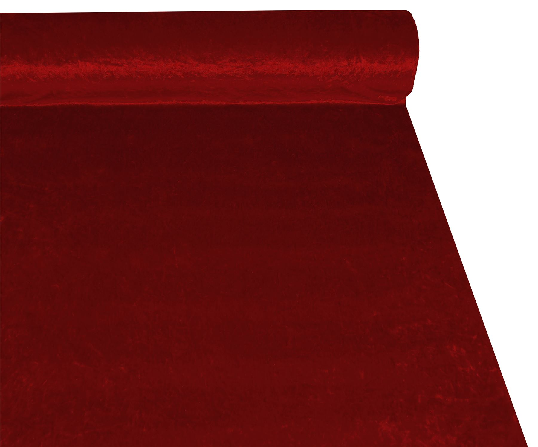 ruby red crushed velvet high quality fabric material 3. Black Bedroom Furniture Sets. Home Design Ideas
