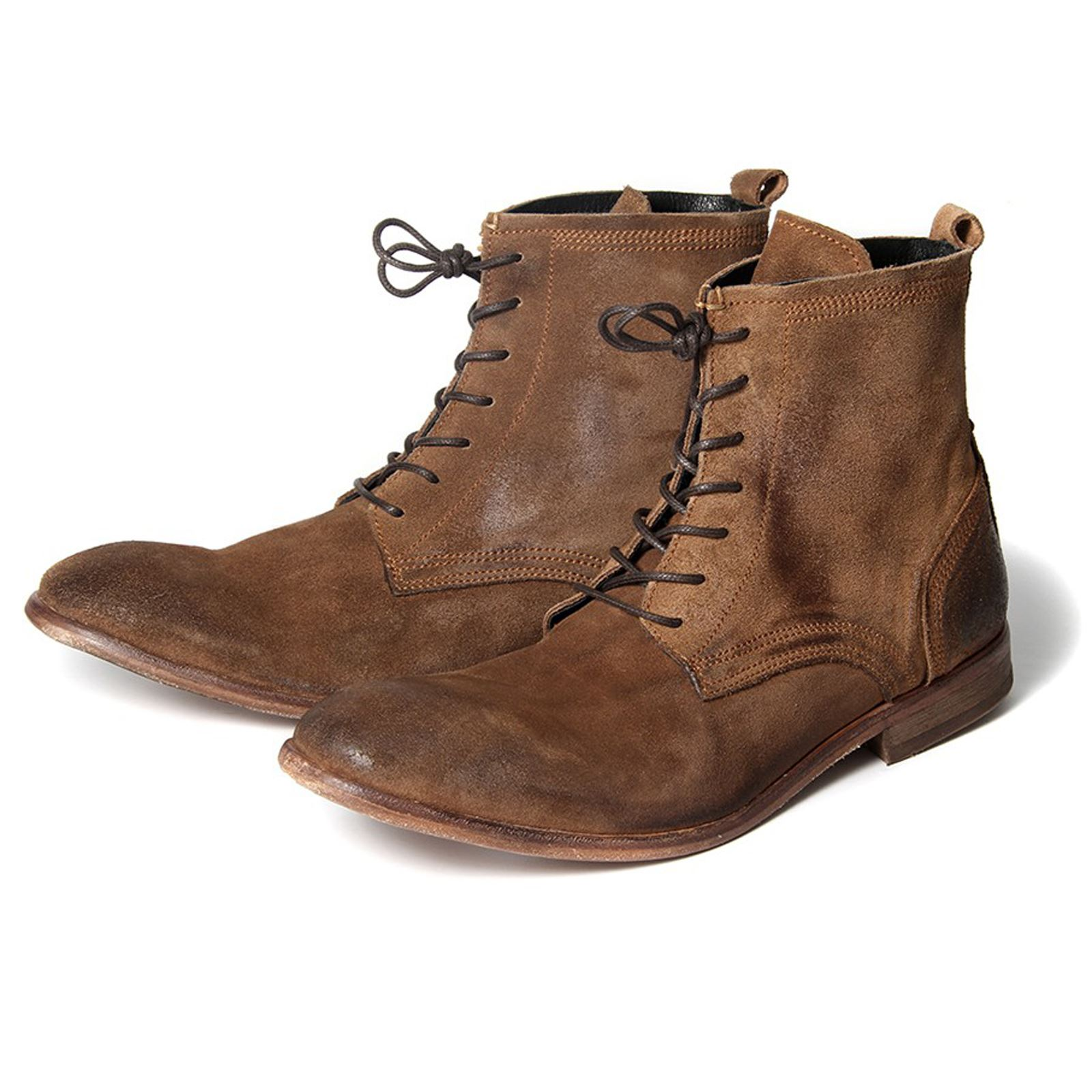 h by hudson boots swathmore suede mens boot ebay