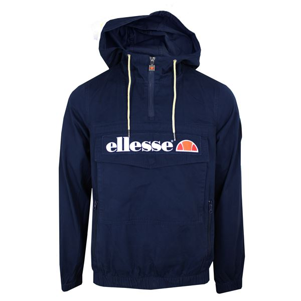 ellesse jacke mont herren marine mit kapuze kapuzenjacke. Black Bedroom Furniture Sets. Home Design Ideas