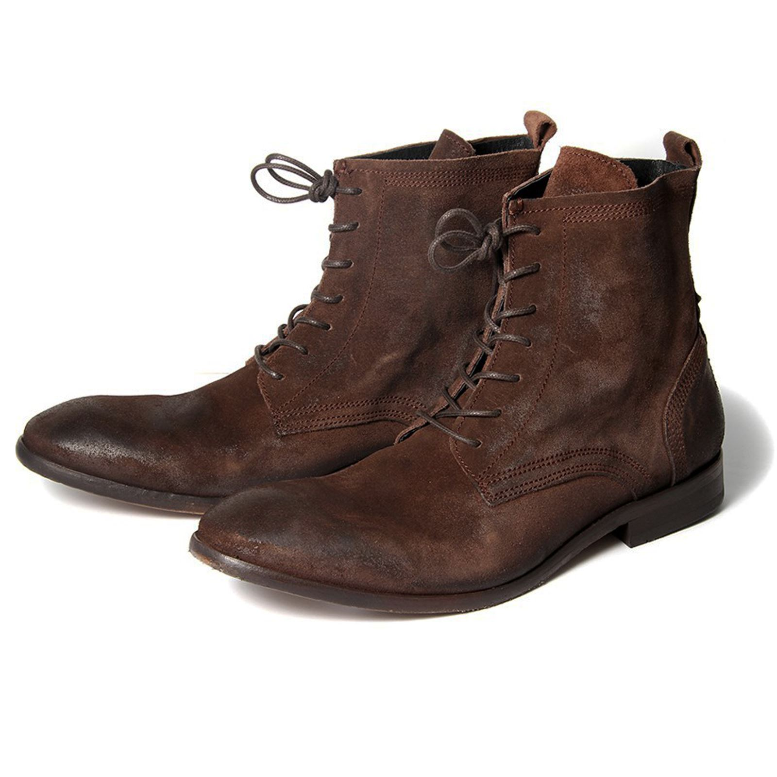 h by hudson boots swathmore brown suede mens boot ebay