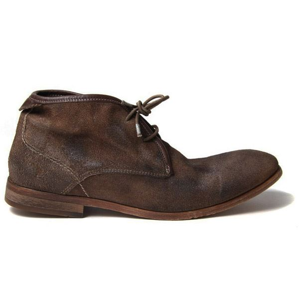 H BY HUDSON BOOTS CRUISE TAUPE SUEDE MENS CHUKKA BOOT   eBay