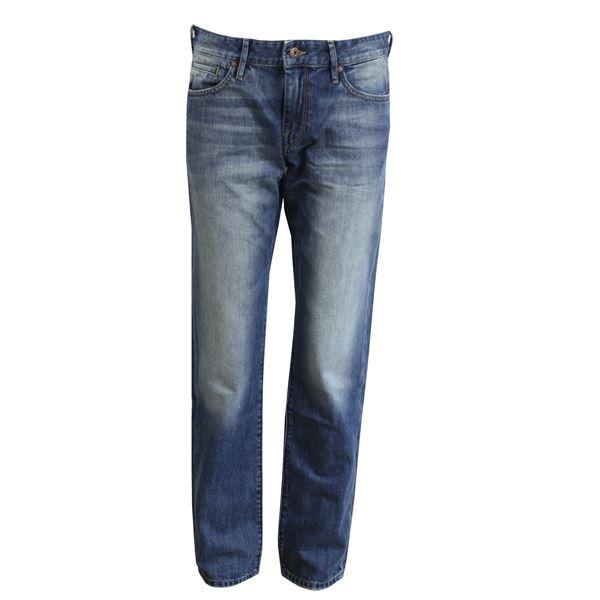 hugo boss jeans barcelona herren blau regular fit denim normale. Black Bedroom Furniture Sets. Home Design Ideas