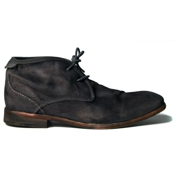 H BY HUDSON BOOTS CRUISE DARK GREY SUEDE MENS CHUKKA BOOT | eBay