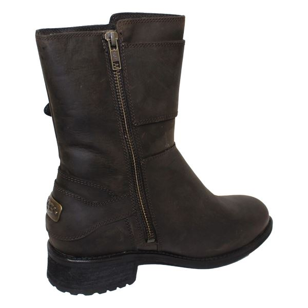 ugg wilcox womens stout leather boots ebay