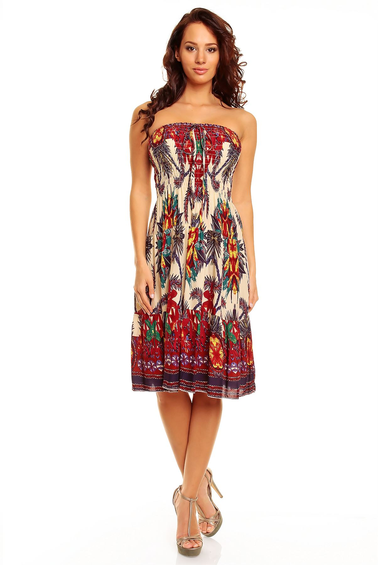 This delightful midi day dress from RACHEL Rachel Roy features a sexy surplice V-neck that'll have you flaunting your fabulous figure. You'll pop in the bright, confident color and the fun flounce sleeves that are so trendy!