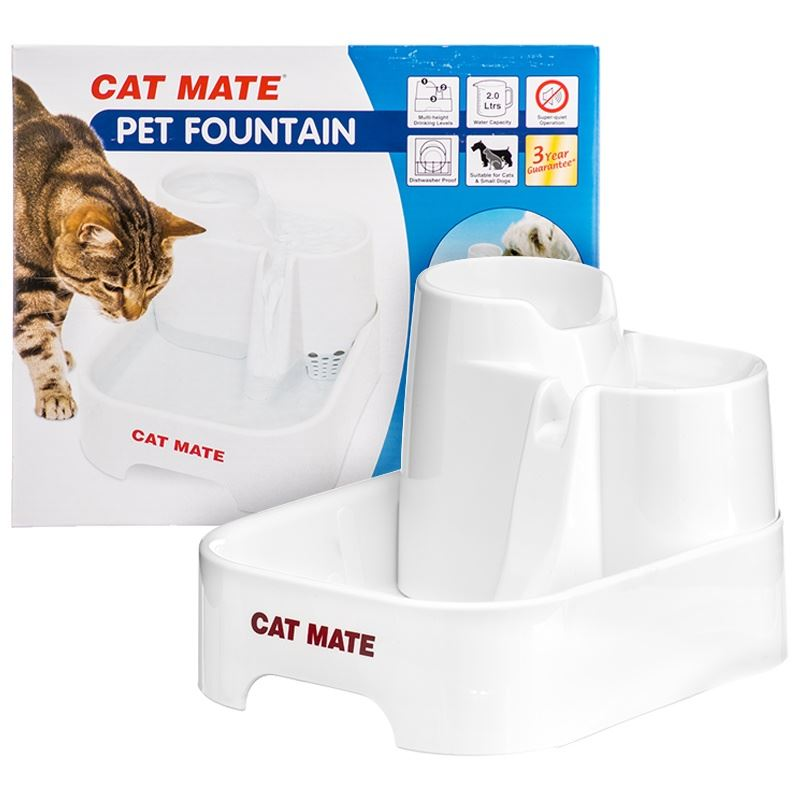 Pet Mate Cat Dog Water Bowl Drinking Fountain Spare