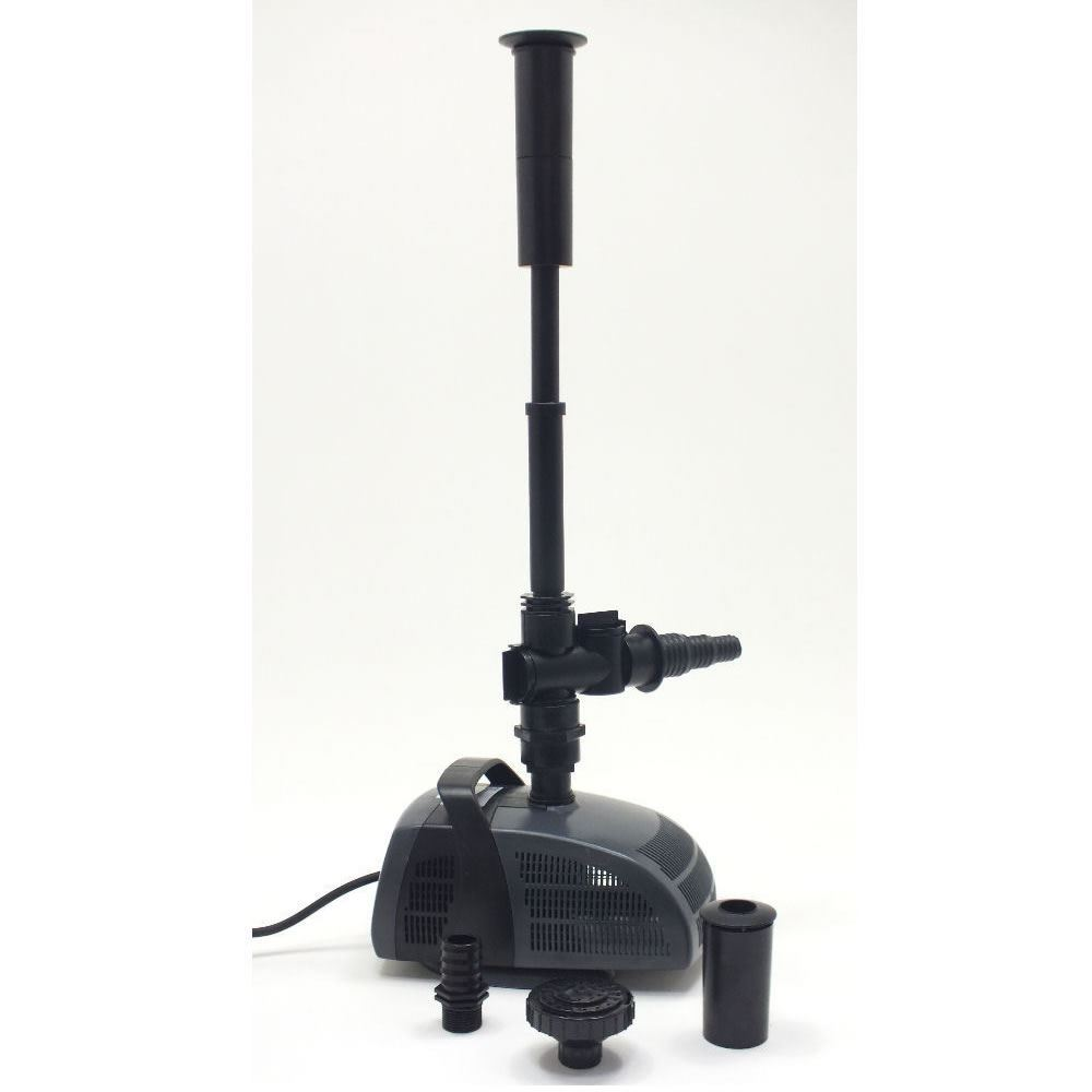 Jebao pf 4000 pond pump garden waterfall fountain feature for Garden pond water pumps