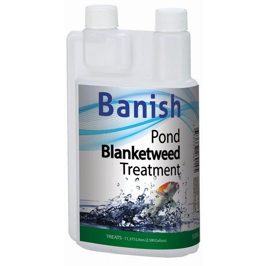 banish pond blanketweed green thread string weed algae