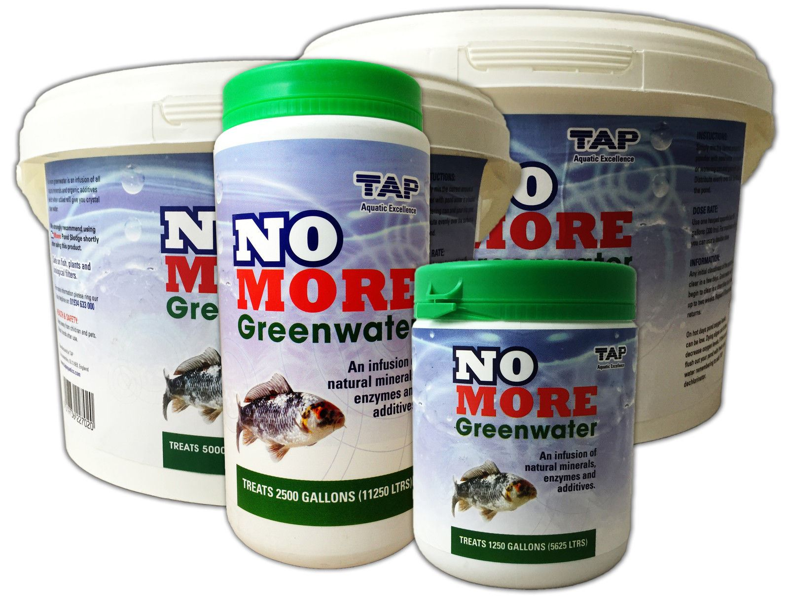 Tap no more greenwater algae green pond water treatment for Green pond water