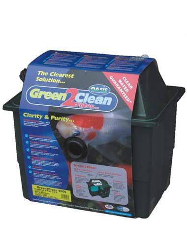 Lotus oasis green 2 clean uv bio filter koi fish ponds for Uv pond cleaner