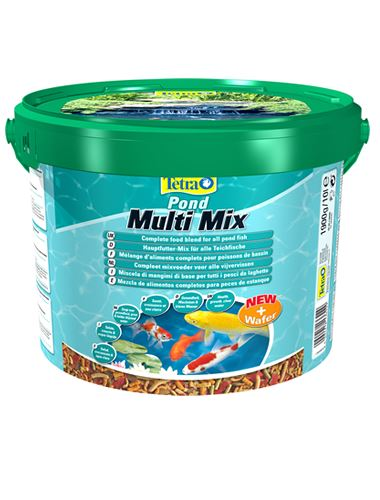 Tetra pond multi mix koi pond fish food ebay for Pond fish food