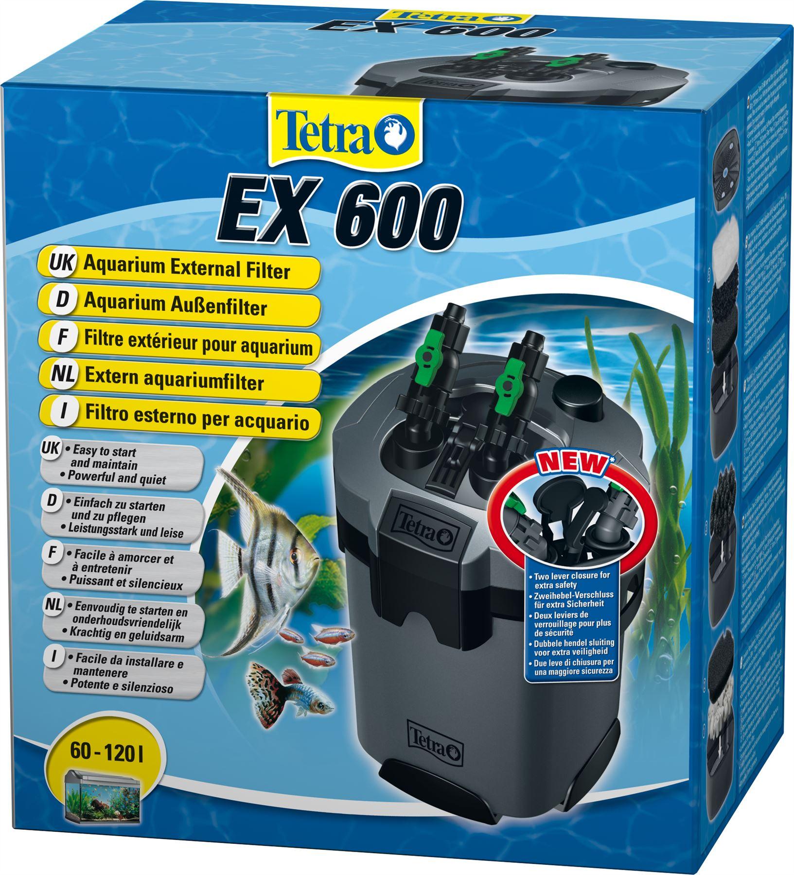 tetra tec ex600 ex700 ex1200 external aquarium fish tank filter filtration ebay. Black Bedroom Furniture Sets. Home Design Ideas
