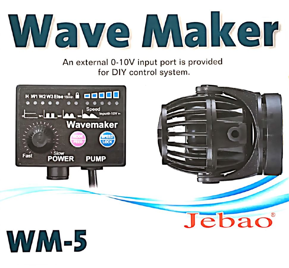 Aquarium fish tank wavemaker - Jebao Wm 5 Wave Maker Variable Speed Marine Reef Aquarium Fish Tank Pump