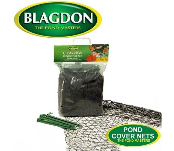 Blagdon pond cover net black protect koi fish from birds for Koi fish predators