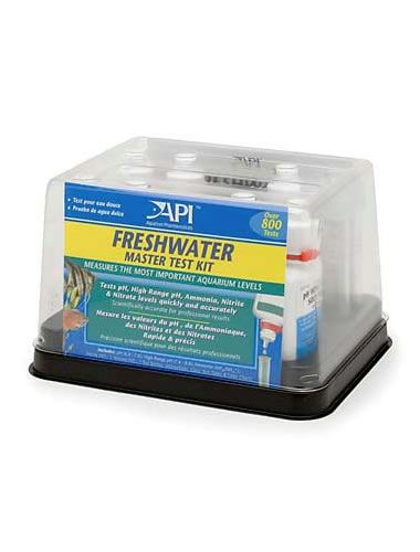 Api master test strips or kits aquarium marine reef fish for Fish tank test strips