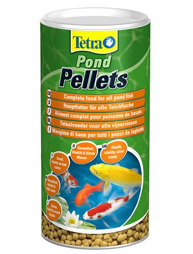 Tetra pond pellets floating fish food koi goldfish orfe ebay for Koi fish food for sale