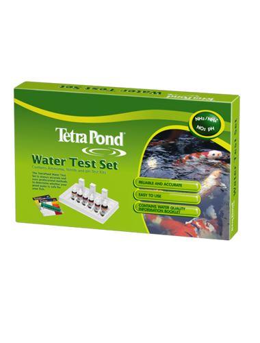Tetra pond water test kit koi fish ponds aquariums for Ph for koi fish