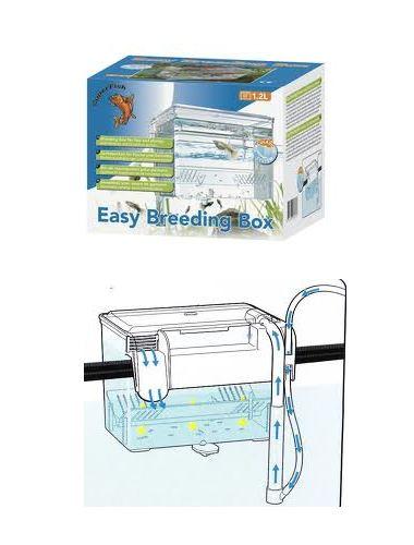 Superfish aquarium easy breeding box baby livebearer fish for Fish breeder box