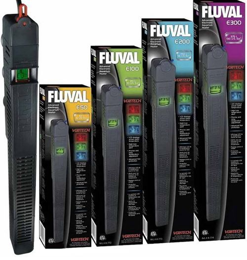 Fluval Electronic Aquarium Fish Tank Heater Thermostat Lcd