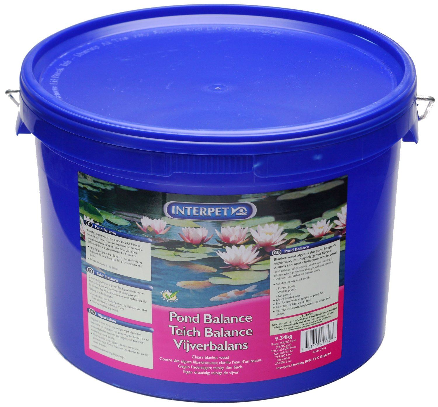 Interpet blagdon pond balance blanketweed koi fish pond for Koi treatment