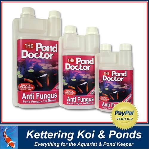 Tap pond doctor anti fungus koi fish pond treatment ebay for Koi pond kettering
