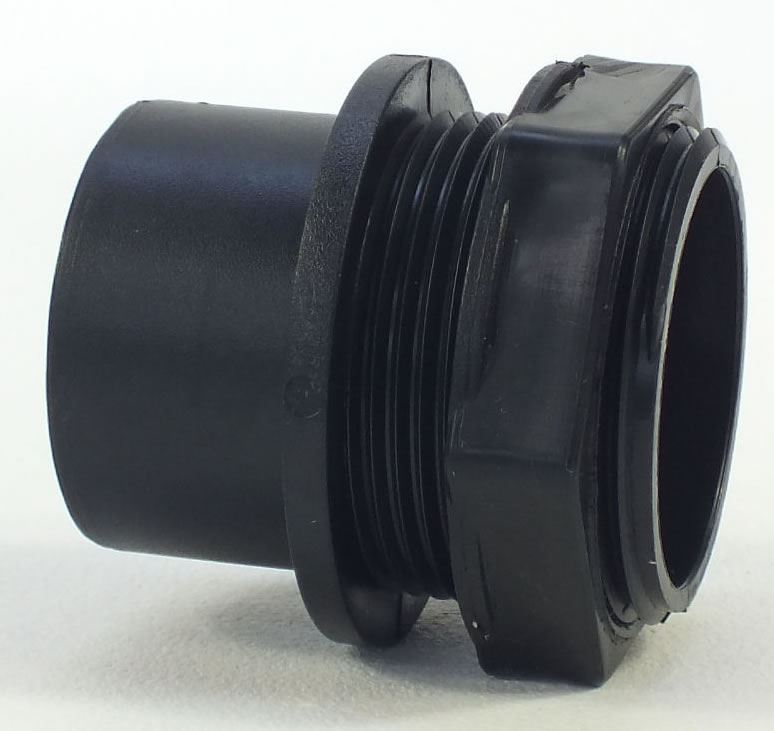 Solvent Weld Threaded Tank Connector Nut Pipe Fitting
