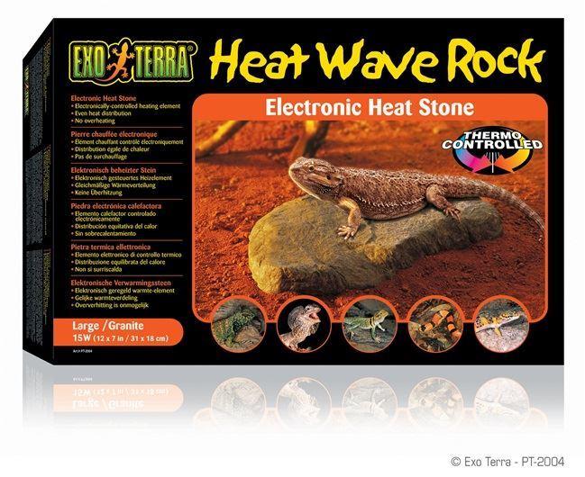 Exo Terra Vivarium Heat Wave Rock Large Reptile Lizard