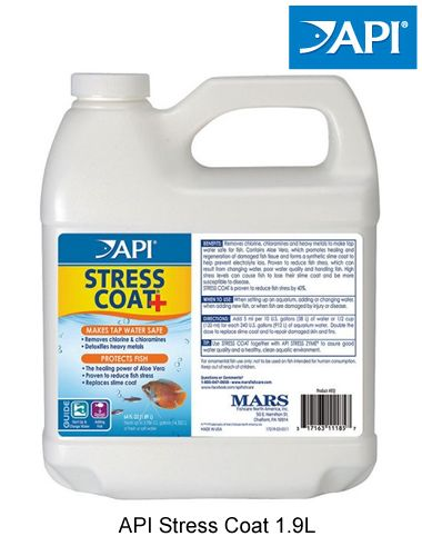 Api Stress Coat Aquarium Dechlorinator Ebay