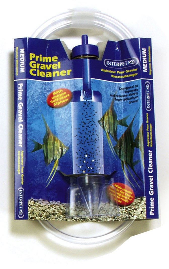 Interpet gravel clean aquarium fish tank cleaner self for How to clean fish tank rocks