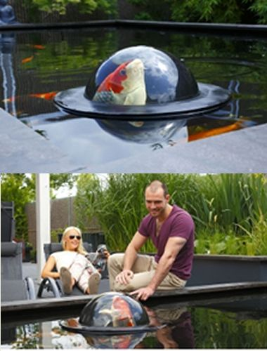 Velda floating dome large koi fish pond sphere water for Koi pond kettering