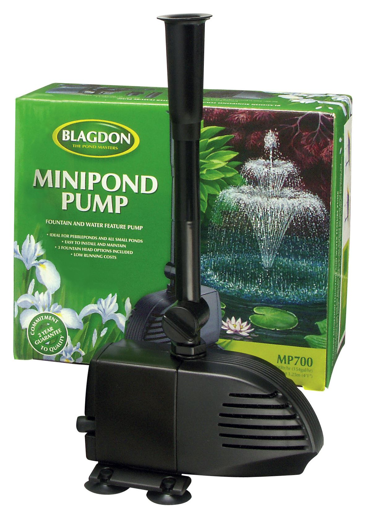 Blagdon mini pond koi fish pump for fountains water for Pond water pump