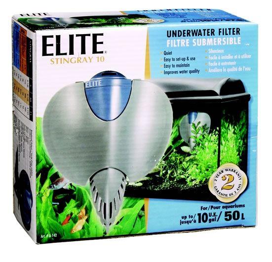 Hagen elite stingray aquarium filter 5 10 15 internal fish for Stingray fish tank