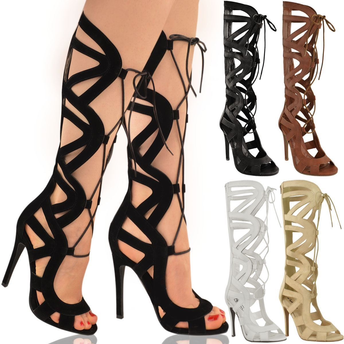 Ladies Gladiator Heels